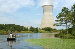 The single-unit, 900-megawatt Harris Nuclear Plant is located near New Hill, N.C. It is about 25 miles southwest of Raleigh, N.C. The plant began commercial operation in 1987, and generates enough electricity to power more than 550,000 homes.