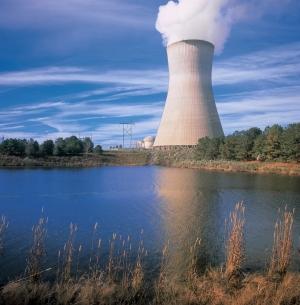 Harris_Plant_cooling_tower_lake