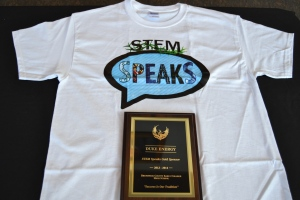 STEM Speaks award