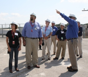 Twelve elected officials and community leaders from Citrus and Levy counties visited CR3 for an inside look at decommissioning.