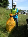 Catawba Road Clean Up Volunteer