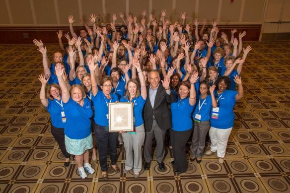 Duke Energy's WIN Central Chapter received two awards at the 2014 WIN national conference.