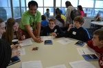 Nearly 100 homeschoolers attended a nuclear science day at Catawba Nuclear Station.