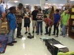 Brunswick Nuclear Plant led a robotics demonstration at six local schools.