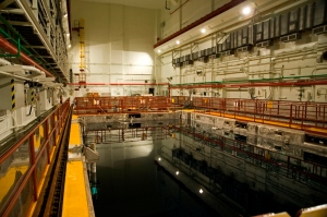Harris Nuclear Plant used fuel pool