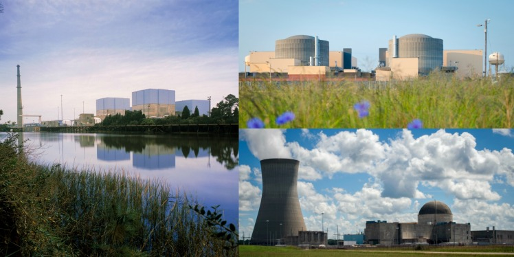 Nuclear Plant Collage