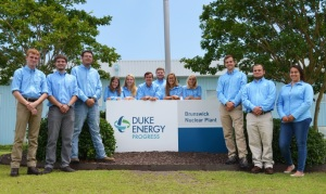 Duke Energy's 2016 Brunswick Nuclear Plant interns
